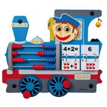 Jeu mural Train Locomotive