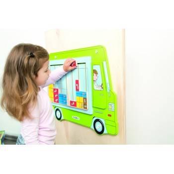 Jeu mural Camion transporteur