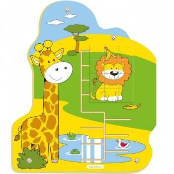 Jeu mural Puzzle Jungle Lion