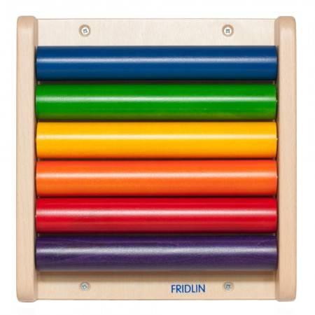 Petit jeu mural Rouleaux colorés