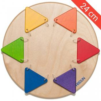 Petit jeu mural Triangles colorés