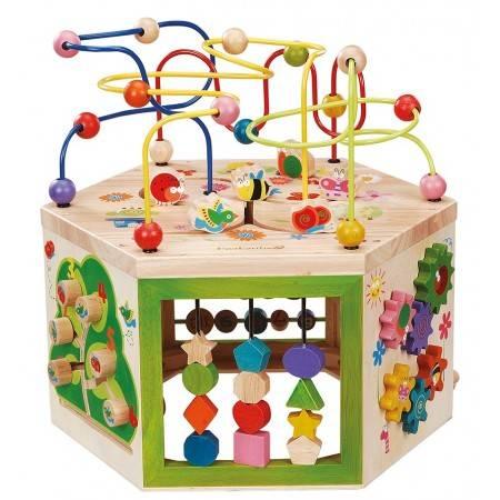 Grand cube d'activités 7 en 1