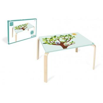 Table en bois enfant Hibou