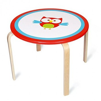 Table ronde enfant Lou le Hibou