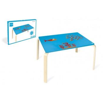 Table en bois enfant Poisson