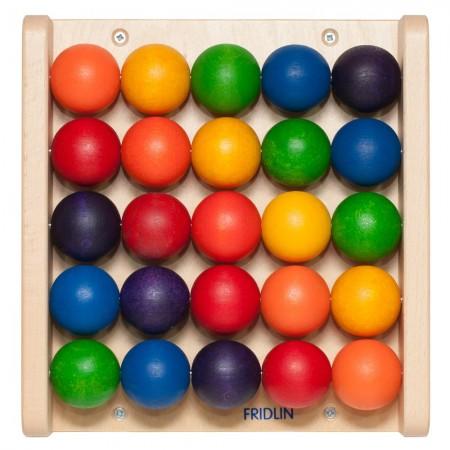 Petit jeu mural Boules de couleur