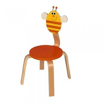 Chaise en bois enfant Abeille