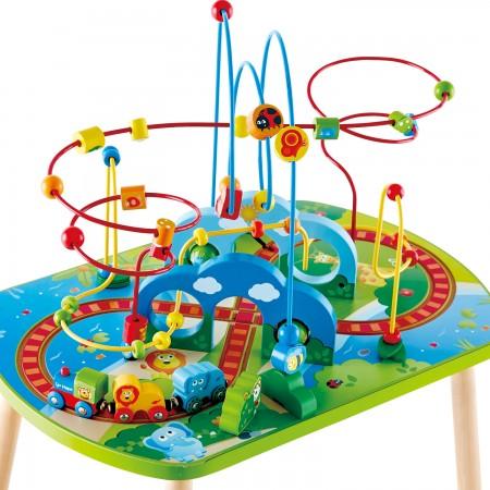 Table D Activites Train Pour Salles D Attente Espaces De Jeux Enfant